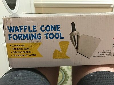 "48 Carnival King 10/"" Waffle Cone Forming Tool FREE SHIPPING US ONLY"