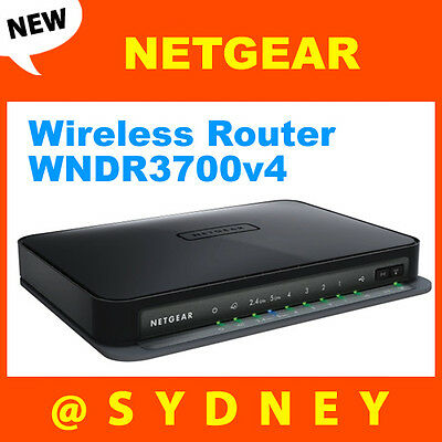 NEW Netgear N600 Wireless Dual-Band Gigabit Router (WNDR3700 V4)