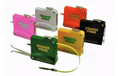 Drakes Pride 10Ft Drakelock Steel Bowls Tapes / Measure In Various Colours