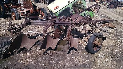 International Harvester 3 Bottom Plow
