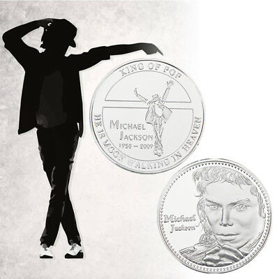 WR Michael Jackson Limited Edition Tribute Coin Silver Rare Coins for Sale MJ