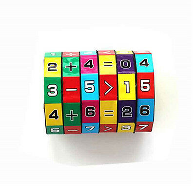 Children Education Learning Magnetic Math Toys For Kids Puzzle Cube Divide zp US