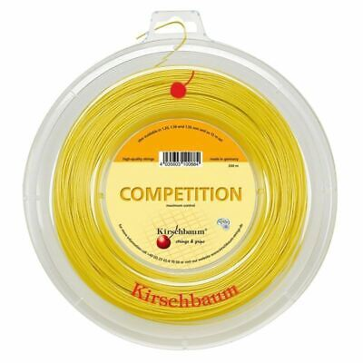 KIRSCHBAUM Competition Tennis String REEL 1.25mm Gauge 200m Racquet Strings