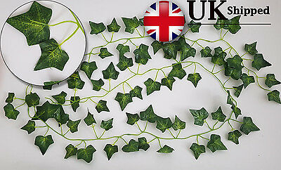 Artificial English Ivy Garland Vine garden Fake wedding Halloween 2m (6ft 5)