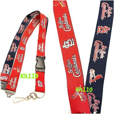Louis Cardinals Team Color Lanyard MLB St Red 22-inches