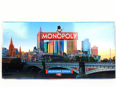 Melbourne Monopoly Australian Kids Toy Set Family Board Game Christmas Gift