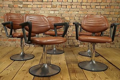 VINTAGE Chair Armlehner Tulip foot Mid Century Chair Dining Barber Chair Lounge