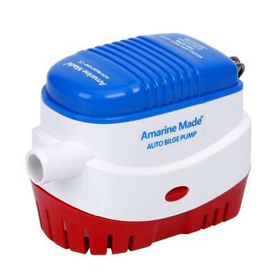 BOAT BILGE WATER PUMP 12V 750GPH AUTOMATIC SUBMERSIBLE AUTO with FLOAT SWITCH