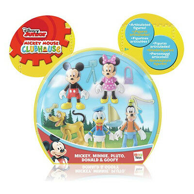 New Disney Mickey Mouse Clubhouse 5 Figure Pack