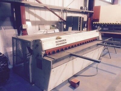 Edwards Pearson mild steel Guillotine 2500mm x 3.5mm £7,250 + Vat