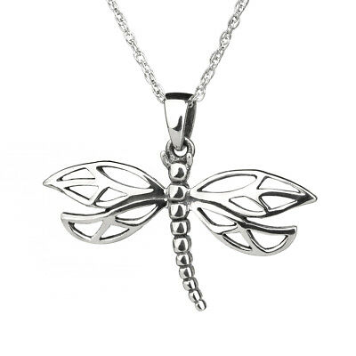Celtic Dragonfly aus Sterling Silber - von Hamilton & Young