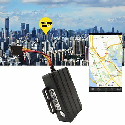 Mini Motorcycle Vehicle Car Tracker GPS GSM GPRS Live Real Time Tracking Locator