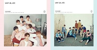 [UNIT BLACK ]Single Album[Steal Your Heart]CD+Photocard+StandingPaper+Poster A&B