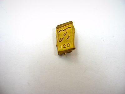 Vintage Collectible Pin: 120 Words Typing Shorthand