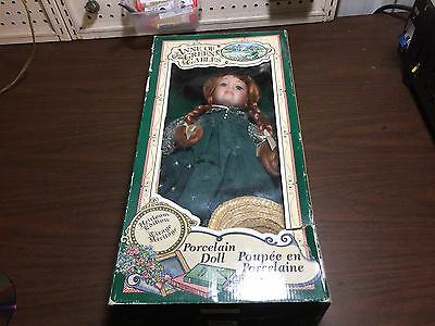 Anne of Green Gables Porcelain Doll (Heirloom edition) (SEE PHOTOS)