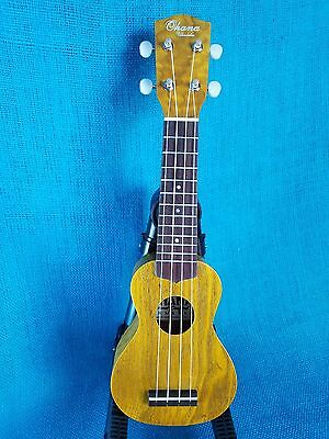 MIM: Ohana ONina Sopranisimo SK-08 Laminate Willow Teenie Pocket Ukulele Uke 466