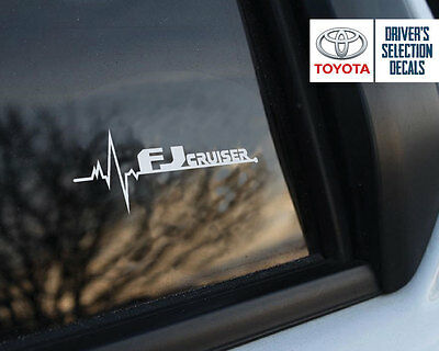 Toyota FJ Cruiser is in my Blood window sticker decals graphic