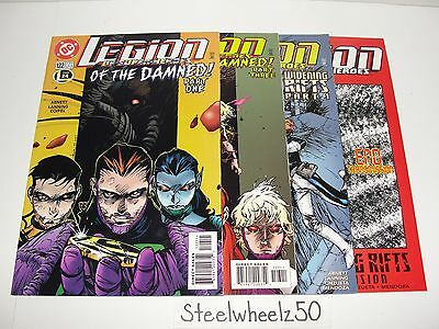Legion Of Super Heroes 4 Comic Lot 1999 #122 123 124 125 Widening Rifts Damned