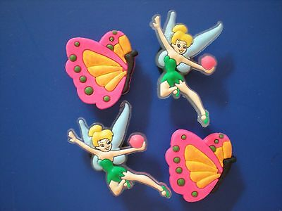 Clog Shoe Charm Plug Button Holey Sandal Jewelry Accessories 4 Fairy Tinkerbell