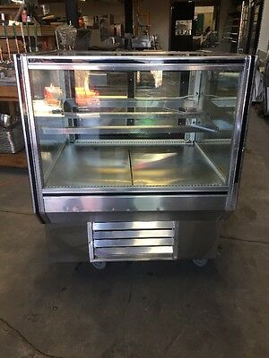 "Leader CBK36 36"" Glass Bakery Display Case Used"
