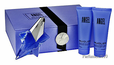 Thierry Mugler Angel Eau de Parfum 25 ml & 50 ml Body Lotion & 50 ml Duschgel