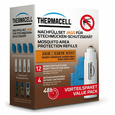 ThermaCELL Mosquito protector refill savings Pack Hunting E-4