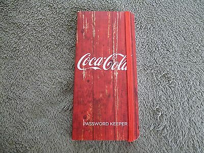 Coca-Cola Password Keeper 160 Pages Organizer Brand New!