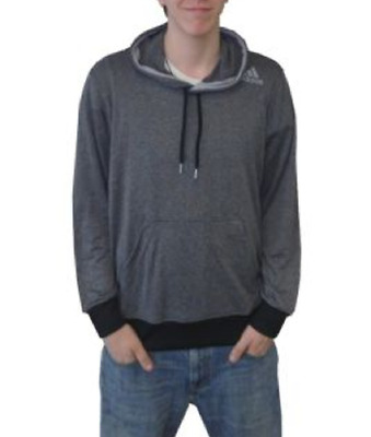 Adidas Men's Ultimate Base Hoodie  Dark Shale/Light Grey
