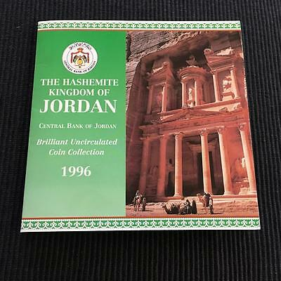 1996 Jordan 8 Coin Sealed Mint Set Brilliant Uncirculted Set With Cover