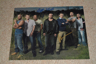 WENTWORTH MILLER DOMINIC PURCELL & PETER STORMARE signed Autogramm  PRISON BREAK