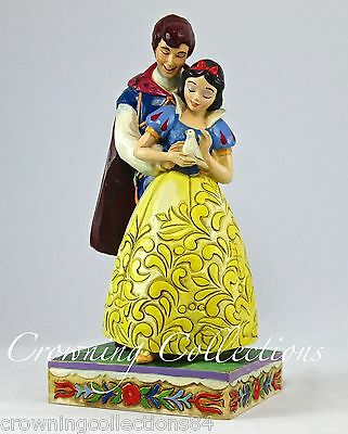 Jim Shore Snow White and Prince Charming Someday is Today Disney Princess Couple