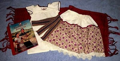 American Girl JOSEFINA Weaving Outfit with Camisa, Skirt, Rebozo COMPLETE!