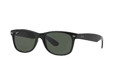 Ray-Ban Wayfarer RB2132 901 Black G15 Lens 52mm