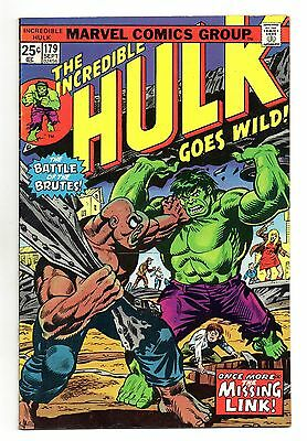 Incredible Hulk Vol 1 No 179 Sep 1974 (VFN) Marvel, Bronze Age (1970 - 1979)