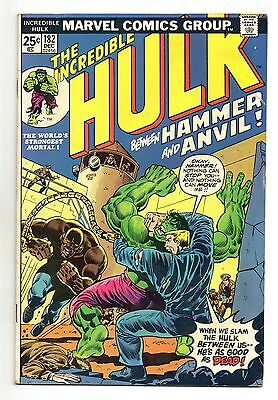 Incredible Hulk Vol 1 No 182 Dec 1974 (VFN) Marvel, Bronze Age (1970 - 1979)