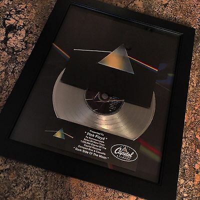 Pink Floyd Dark Side Of Moon Album Platinum Record Disc Album Music Award RIAA