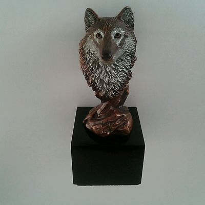 Wolf Sculpture - Kitty Cantrell Limited Edition From The Legends Gallery