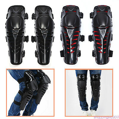 Safety Adult Knee Protector Shield Guard armor Pads Bike Motocross Motorcycle HU