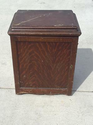 Antique Parlor Singer Sewing Cabinet #168 (J-Cm)