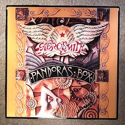 AEROSMITH Pandora's Box Coaster Record Cover Ceramic Tile