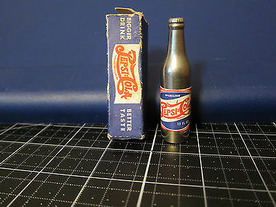 vintage SPARKLING Pepsi Cola SODA ADVERTISING BOTTLE CIGARETTE Pocket Lighter