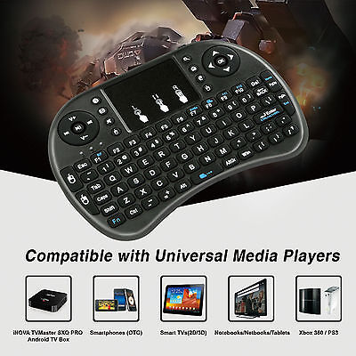2.4G Mini Wireless Keyboard Touchpad Mouse Keypad For PC PS3 Xbox Android TV Box
