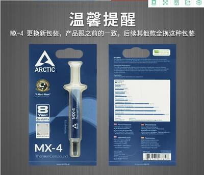 1pcs ARCTIC COOLING ACTC-MX4 THERMAL COMPOUND PASTE GREASE MX-4 4g #A44M LW