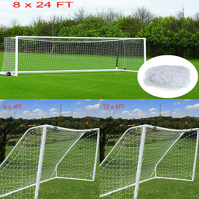 New Multi Size Football Soccer Goal Post Net for Sports Training Match Replace