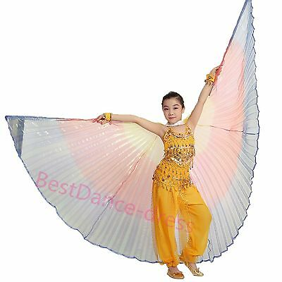 Girls Egyptian wings belly dance Holiday dress up Angel Wings Isis wings colors