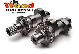Wood Performance Knight Prowler TW-222 Cams Harley Twin Cam 06-15 FLH/FLT FXD ST