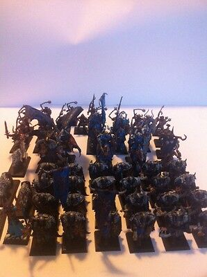 Warhammer Fantasy Age Of Sigmar Painted Warriors Of Chaos Army Slaves Darkness