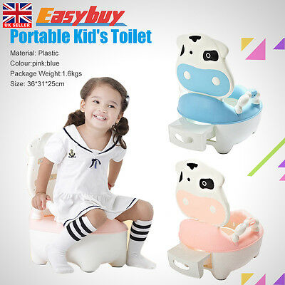 Safety Portable  Baby Potty Trainer Toddler Toilet Training  Children Seat Chair
