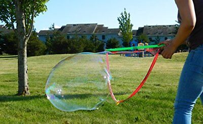 Giant bubble maker Fun Kids Toy Soap Play Magic Blower Huge Bubbles Outdoor Play
