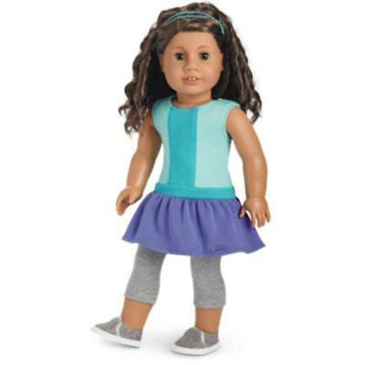 American Girl Colour Block Dress for 18-inch Dolls - New in Packaging